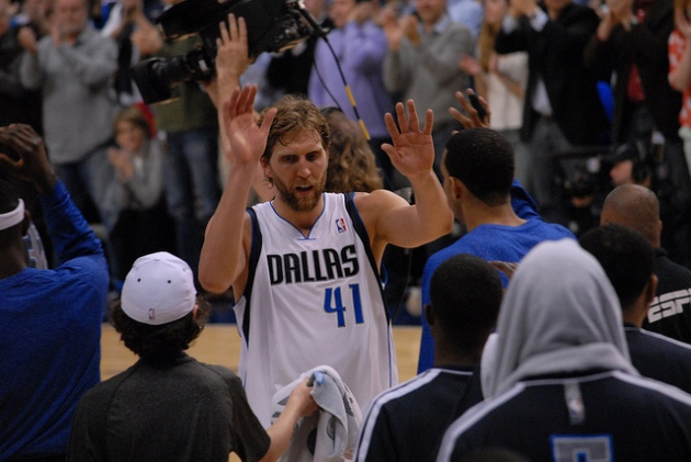 Dirk is still the man.